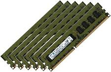 6x 4gb 24gb ddr3 Samsung 1333 MHz/1066 Mhz ECC RAM per Apple Mac Pro 4,1 5,1