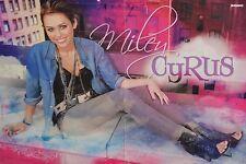 MILEY CYRUS - A3 Poster (ca. 42 x 28 cm) - Clippings Fan Sammlung NEU