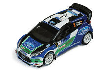 Ford Fiesta RS Wrc #3 Retired Argentina 2012 Sordo / Del Barrio 1:43 Model