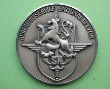 Medaille du bureau du service national de Lyon