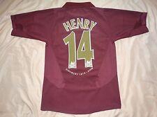 RARE Arsenal #14 HENRY shirt jersey HIGHBURY camiseta S 2005 05 2006