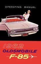 1962 Oldsmobile F-85 Owners Manual User Guide Reference Operator Book Fuses OEM