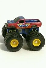Vintage Micro Machines Monster Truck Pickup Galoob Red Blue Chevy Tampos