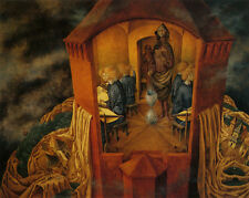 Embroidering the Earths Mantle  by Remedios Varo   Giclee Canvas Print Repro