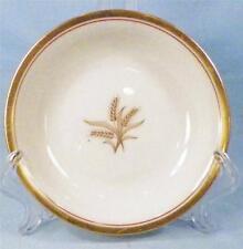 Lenox Westfield Fruit Dessert Sauce Bowl Off White Porcelain Gold Wheat R-440