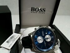 HUGO BOSS MEN'S WATCH & BOX 100% GENUINE 1513283 BRAND NEW ���� TAGS & WARRANTY