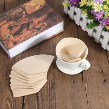 40pcs Coffee Filter Paper Coffee Hand-poured Brewer Coffee Filter Drip 1-2 Cup
