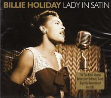 BILLIE HOLIDAY - LADY IN SATIN  (NEW SEALED 2 CD)