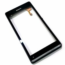 100% Genuine Sony Xperia SP front +digitizer touch screen C5303 glass panel+flex