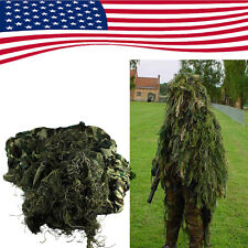 Set Camouflage YOWIE SNIPER Tactical Camo Suit For Ghillie Birding Hunting