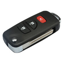 3 Button Replacement Key Shell Case For Nissan Refit Flip Fob Remote Frontier