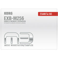 Korg EXBM256 Sample Memory Expansion For PA3x M3 & Pa2XPro, New!