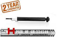 2 BRAND NEW REAR GAS SHOCK ABSORBERS FOR TOYOTA AURIS 10.2006-  ///GH 334546///