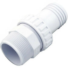 Hayward 1.5 Inch MIP x 1.5 Hose ABS Plastic Barbed Hose Fitting White | SP1493