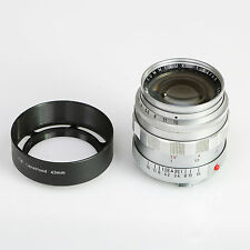 Leica 50mm f/1.4 Summilux (Chrome) M Mount Lens (Leitz Wetzlar) ~