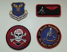 USAF patches set 13th bomb sq. & name tag. B-2