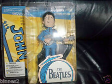 THE BEATLES McFARLANE TOY MODEL FIGURE JOHN AND HIS PART OF STAGE FAB! BRAND NEW