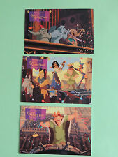 set 3 Carte postale Le bossu de notre Dame Disney Happy meal Mc do mac Donald's