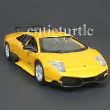 Bburago 24050 Lamborghini Murcielago LP 670-4 SV 1:24 Diecast Model Car Yellow