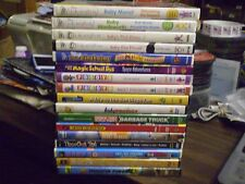 (23) Childrens Educational Learning DVD Lot: (5) Disney Baby Einstein  Pocoyo