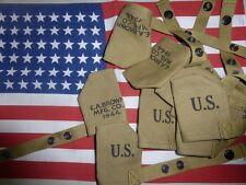 USM1 / GARAND M1 : couvre-museau protection de canon US M1 canvas muzzle housse