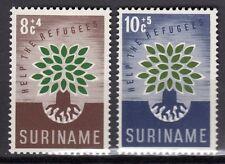 Suriname - 1960 Refugee year Mi. 380-81 MNH