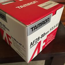 Tamron AF 28-80mm F3.5-5.6 Aspherical Lens for Nikon