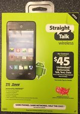 STRAIGHT TALK ANDROID ZTE ZEPHYR - BRAND NEW UNOPENED - VERIZON TOWERS