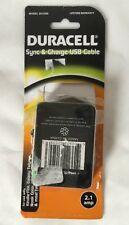 Kindle Fire Galaxy Tab Sync & Charge USB Cable Duracell DU1599 Nook Flyer