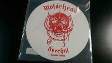MOTORHEAD - OVERKILL / Breaking The Law 12 inch Single White Vinyl  Lemmy