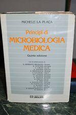 Libro Principi di Microbiologia Medica autore M. La Placa usato ben mantenuto