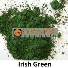 IRISH GREEN Concrete Color Pigment Cement Mortar Garden Statue Pool Plaster 3LBS