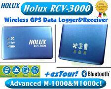 NEW Holux RCV-3000◎Advanced M1000C&M1000◎Bluetooth GPS Receiver GPS Data Logger