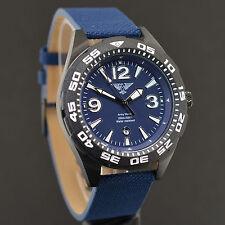 Army watch Sport 20 ATM impermeable diver reloj Náutico top-Design OVP m182