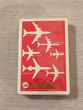 SEALED c1970 Fournier Vitoria Iberia Airlines Playing Cards Deck Made in Spain