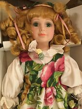"ROYAL ALBERT Doulton OLD COUNTRY ROSES Rose 15 "" Doll Collectible"