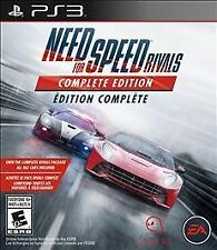 PLAYSTATION 3 NEED FOR SPEED RIVALS COMPLETE EDITION NEW RACING VIDEO GAME