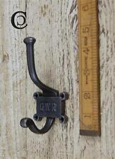 1 ghisa GWR ferroviaria Hat & Coat Hook 2 parte Repo vintage incl. VITI