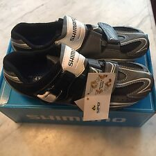 NOS Men's Shimano SH-M087G Mountain/Spin Shoes 2-Bolt SPD Size 43 EURO; 8.9 US