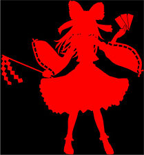 Touhou Project Reimu Hakurei Character Decal 2