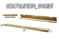 SCATOLA CARTONE 30 PEZZI 73x7x1,5 FUSTELLATA IMBALLO  SPEDIZIONE BAULETTO ALTA