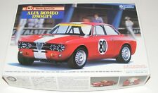 Gunze Sangyo 1/24 scale ~ Alfa Romeo 1750 GTV Model Kit ~ New ~
