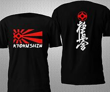 NEW KYOKUSHIN MAS OYAMA KARATE JAPAN BOXING MMA 2 SIDES T SHIRT S-4XL