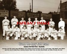 Rare GRAND OLE OPRY Ball Team Photo Sulphur Dell Park NASHVILLE Collectors L@@K