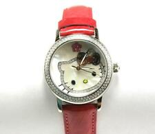 KIMORA LEE SIMMONS HELLO KITTY DIAMOND SAPPHIRE LADIES WATCH qwl1032diato-red