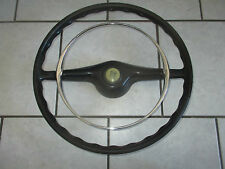 Lancia Fulvia 2 Spokes Steering wheel with Chrome Horn ring