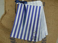 50 Striped Sweet Bags ~ Sweet Cart/ Buffet for Partys ~ With Love!!