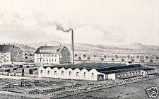 Sägewerk Wacker Reichenbach Reklame 1926 Kistenfabrik Holz Handel Werbung