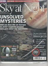 SKY AT NIGHT MAGAZINE December 2009 No 55 Unsolved Mysteries AL