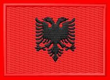 Flagge Albanien Flag Albania iron-on Aufnäher patch